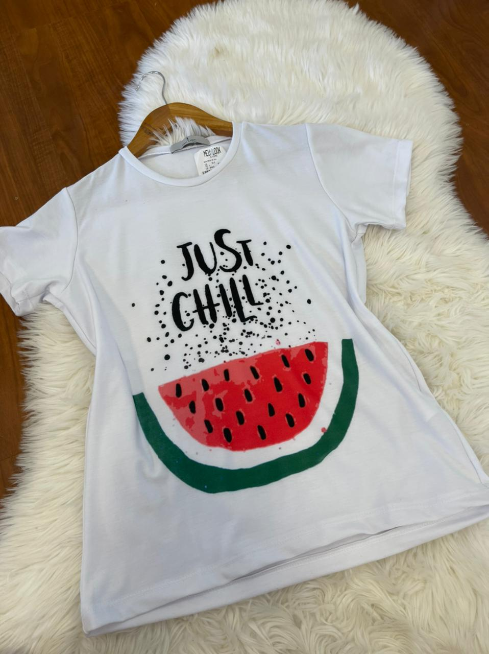 T SHIRT JUST CHILL