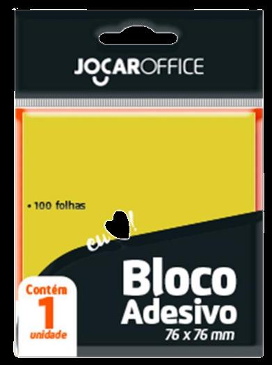 BLOCO ADESIVO PARA RECADO 76MM X 76MM