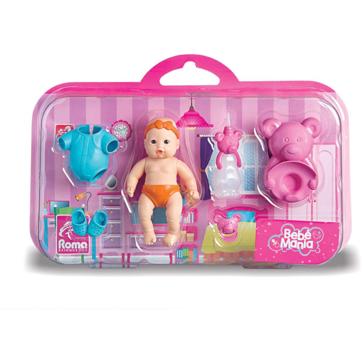 Boneca | Bebe Mania Peniquinho c/Acesso | Roma