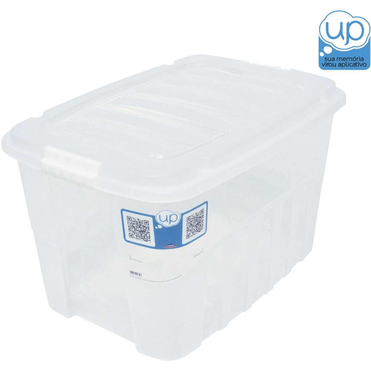 CAIXA PLASTICA MULTIUSO GRAN BOX ALTA INCOLOR 19,8L