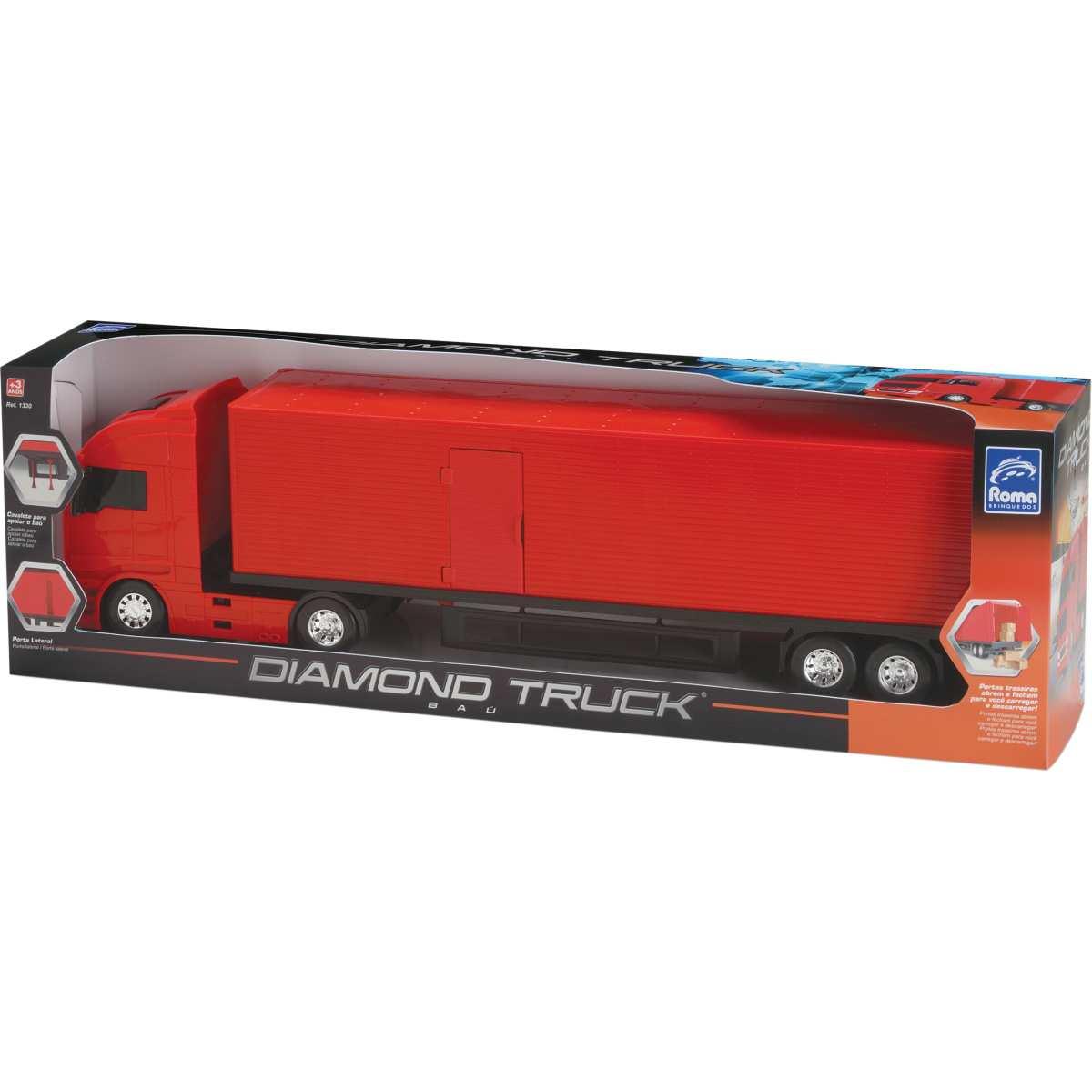Caminhao | Diamond Truck Bau 67cm | Roma