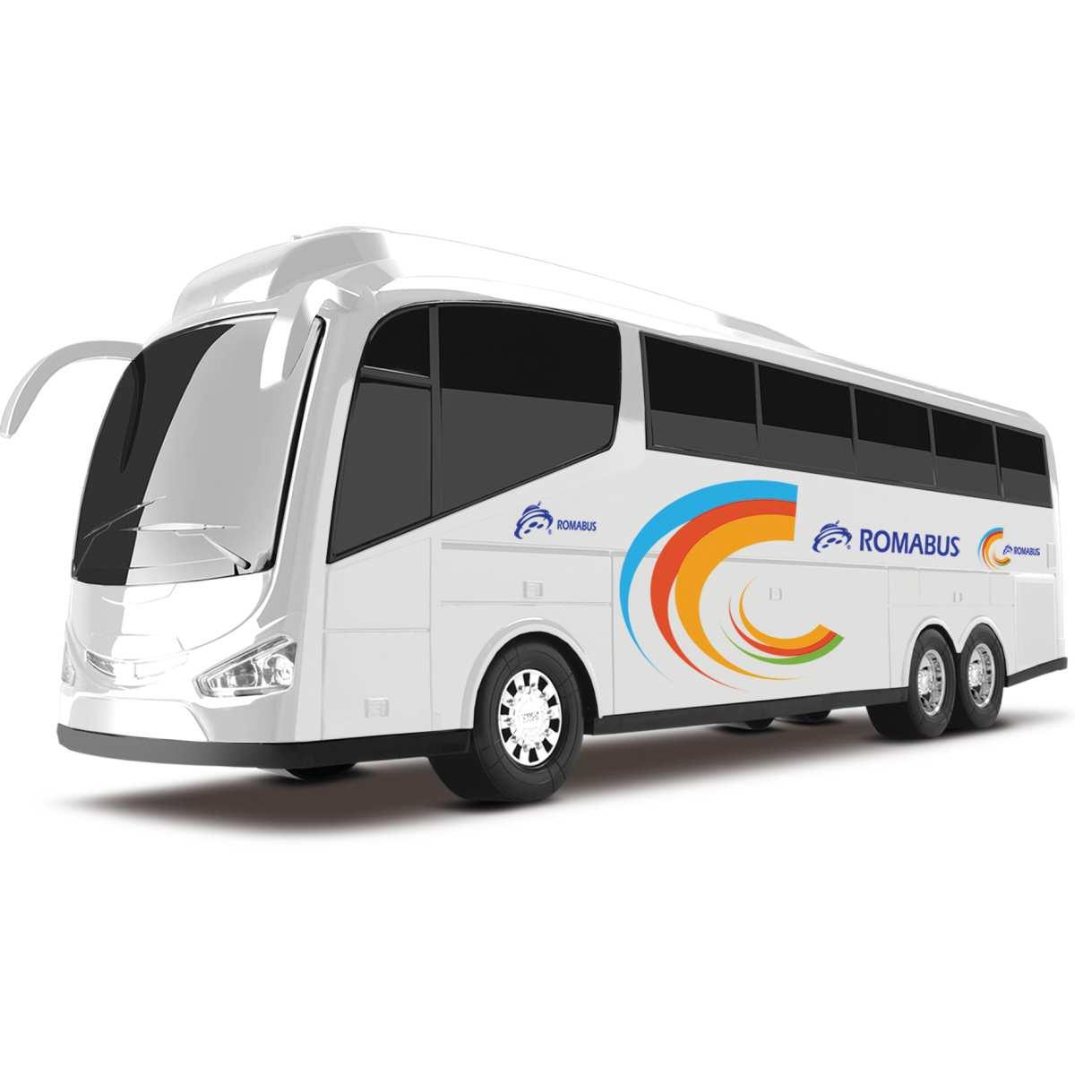 Carrinho | Bus Executive Branco 48,5cm | Roma