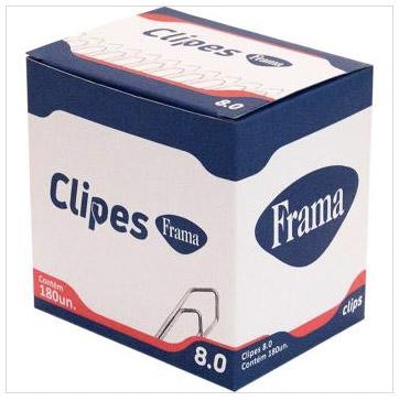 Clipe Galvanizado Aco 8/0 Cx.c/180 - Frama
