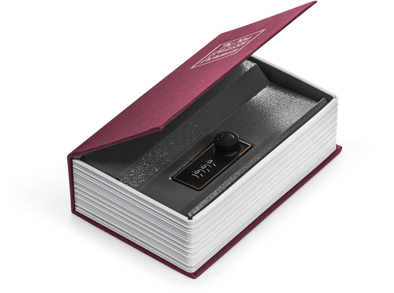 Cofre | Livro Cofre P 11,5X5,5X18Cm | Ordene