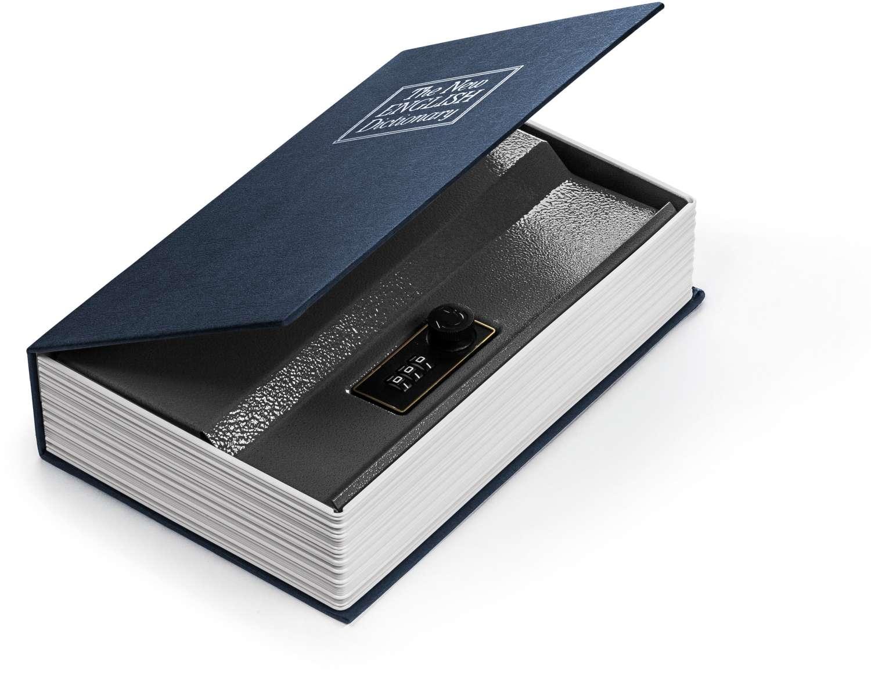 Cofre Livro - M 15,5X5,5X24cm. - Ordene