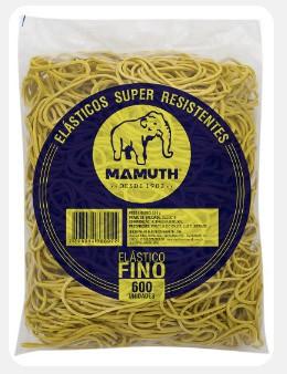 Elastico Fino - Amarelo 500g/600 Unidades - Mamuth