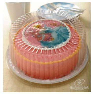 Embalagem p/Torta G50mm Media Branca