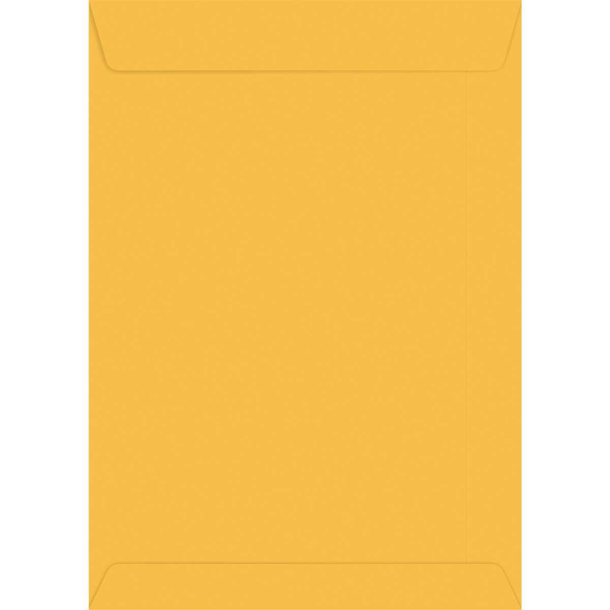 ENVELOPE SACO OURO 162 X 229