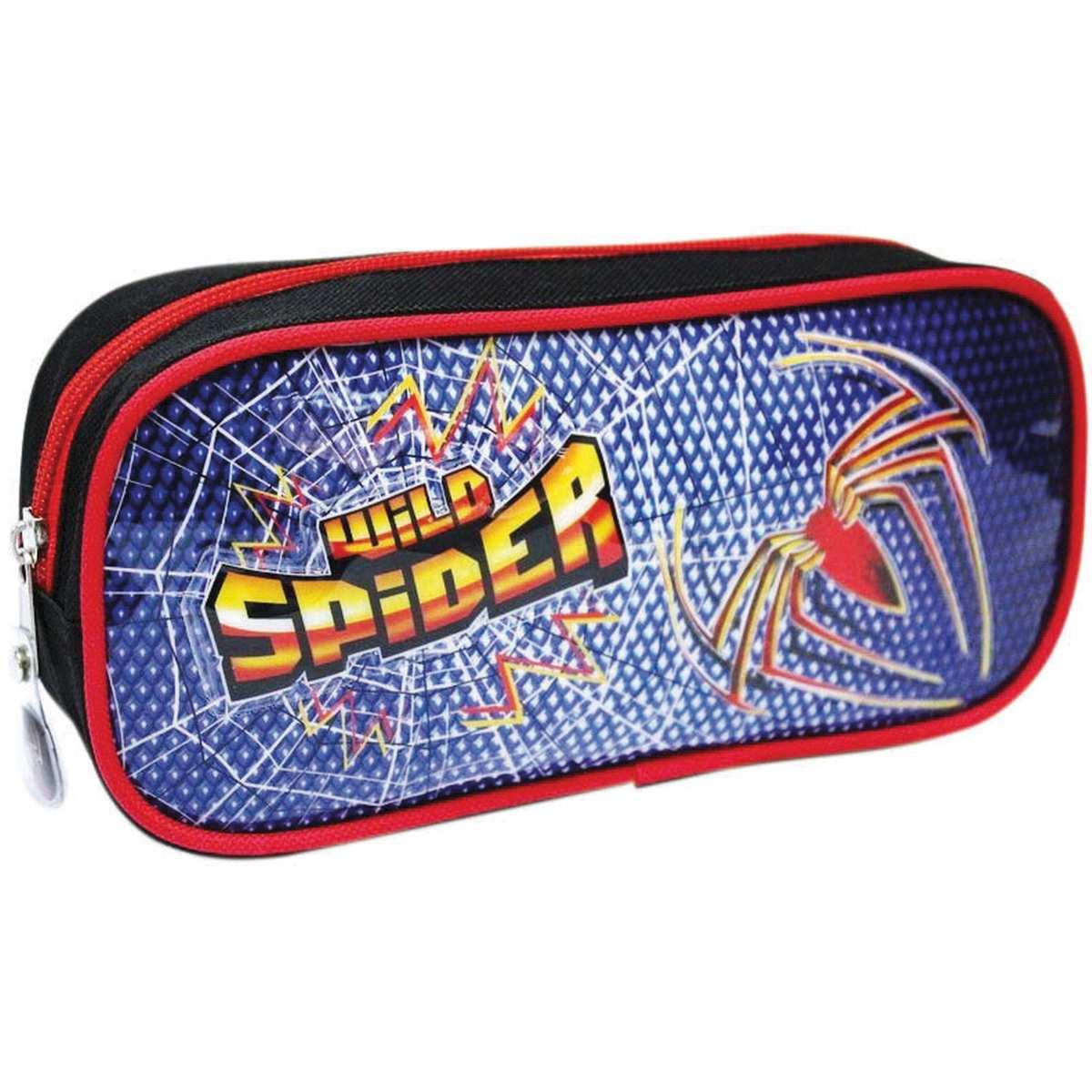 Estojo Tecido - Wild Spider GD 1 Ziper Sortidos - Kit