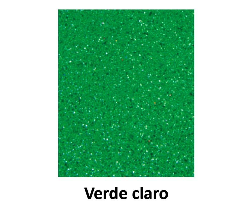 EVA COM GLITTER VERDE PISCINA 40CM x 60CM