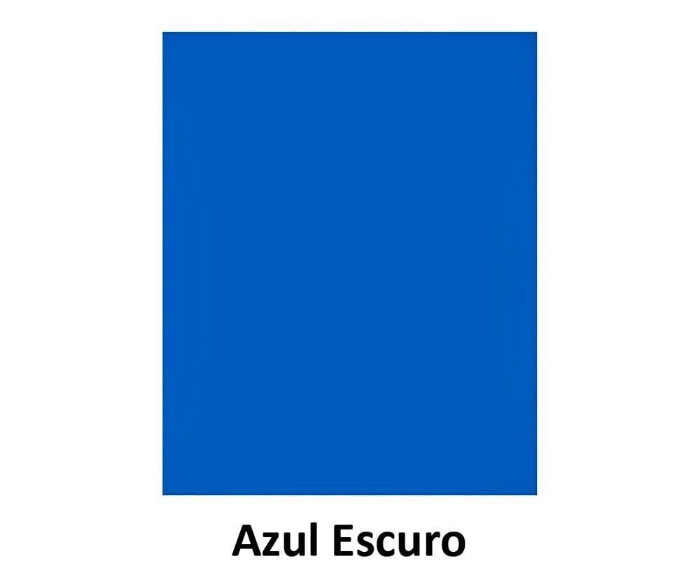 EVA Liso -  40cm x 60cm Azul Escuro Pct.c/10 - Leo & Leo