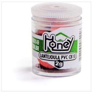Lantejoula | Metalizada Vermelho 10mm Pote 2g - Honey