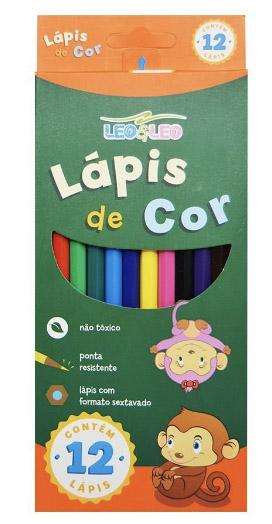 LAPIS DE COR 12 CORES