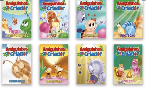Livro Infantil | Amiguinhos do Criador - Bicho Esperto
