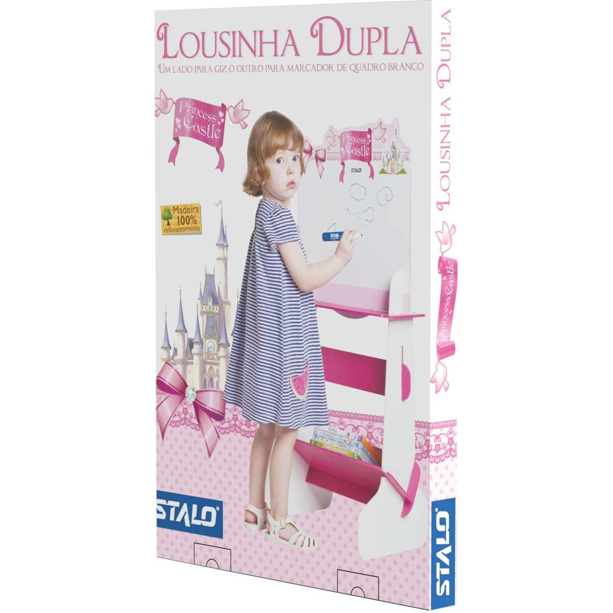 Lousa Infantil - Princess Dupla (De Encaixe) - Stalo