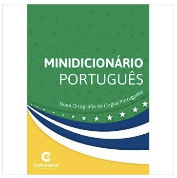 Minidicionario - Portugues Nova Ortografia 352 Pgs - Culturama