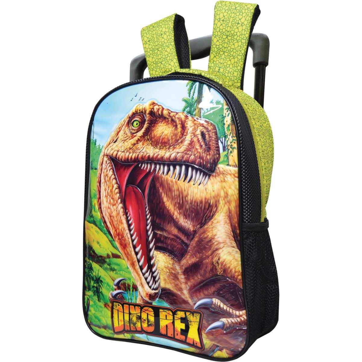 Mochila de Carrinho - Dino Rex GD 2Bolso Sort. - Kit