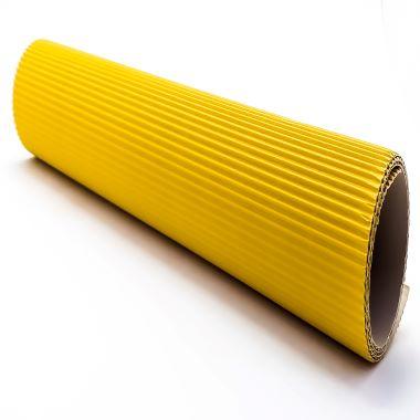Papel Micro Ondulado Amarelo
