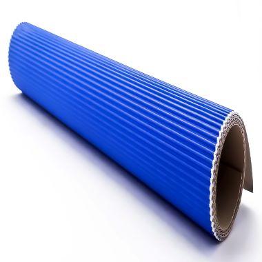 Papel Micro Ondulado Azul Royal