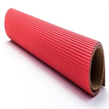 Papel Micro Ondulado Vermelho