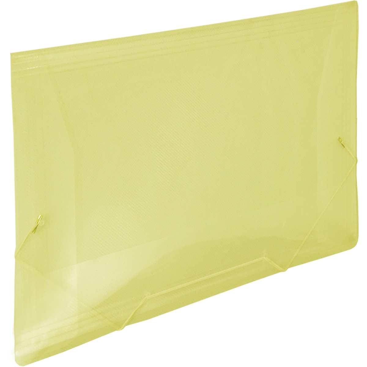 Pasta Aba Elastica - Plastica Oficio Amarela Line Pct.c/10 - Dac