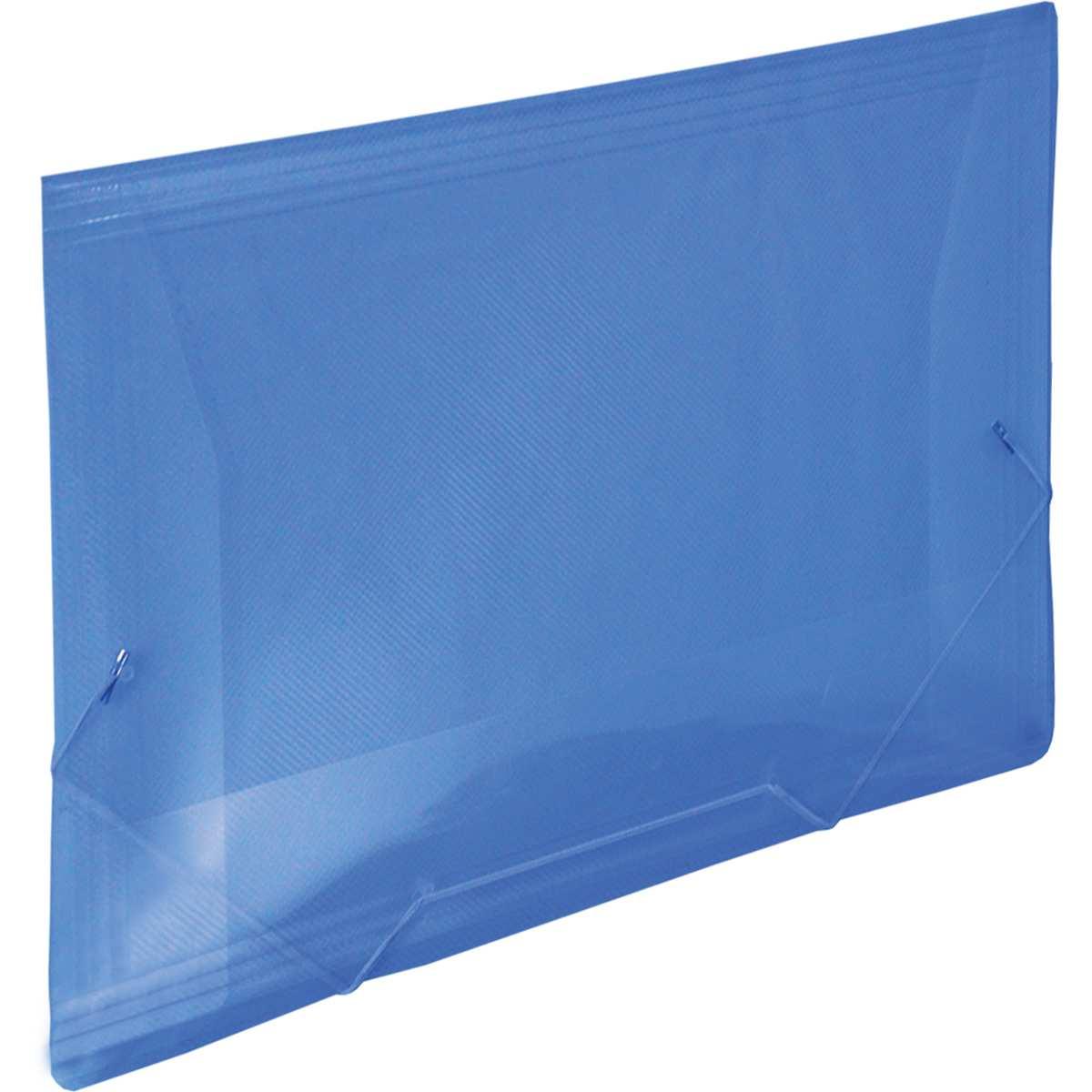 Pasta Aba Elastica - Plastica Oficio Azul Line Pct.c/10 - Dac