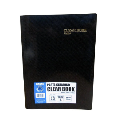 PASTA CATALOGO CLEAR BOOK