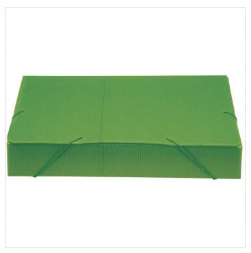 Pasta Polionda Oficio 55mm Verde - Polycart