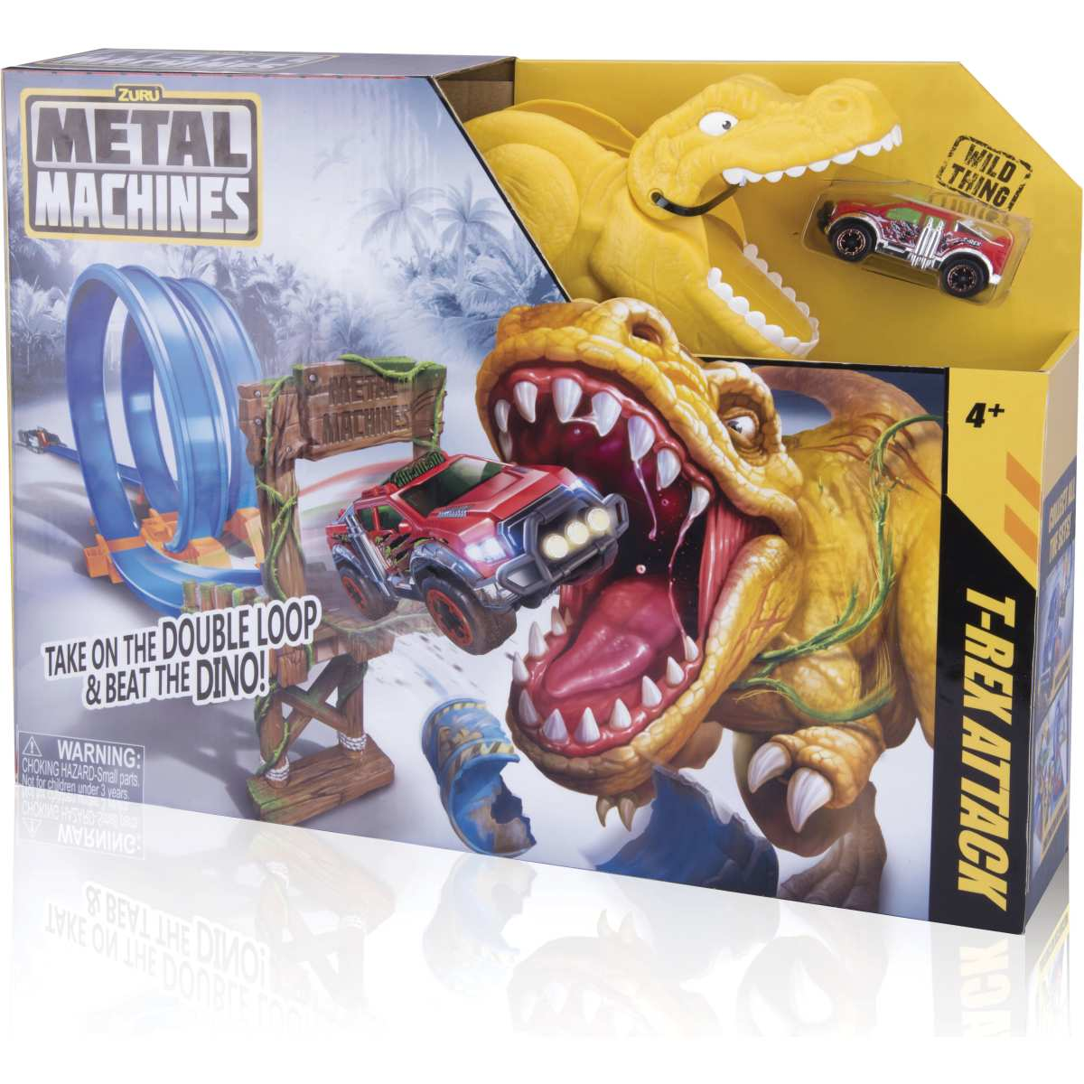 Pista | Metal Machines T-Rex Attack | Candide
