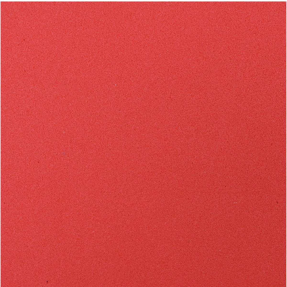 Placa em EVA | 60x40cm Vermelho 1,6mm Pct.c/10 - Make+