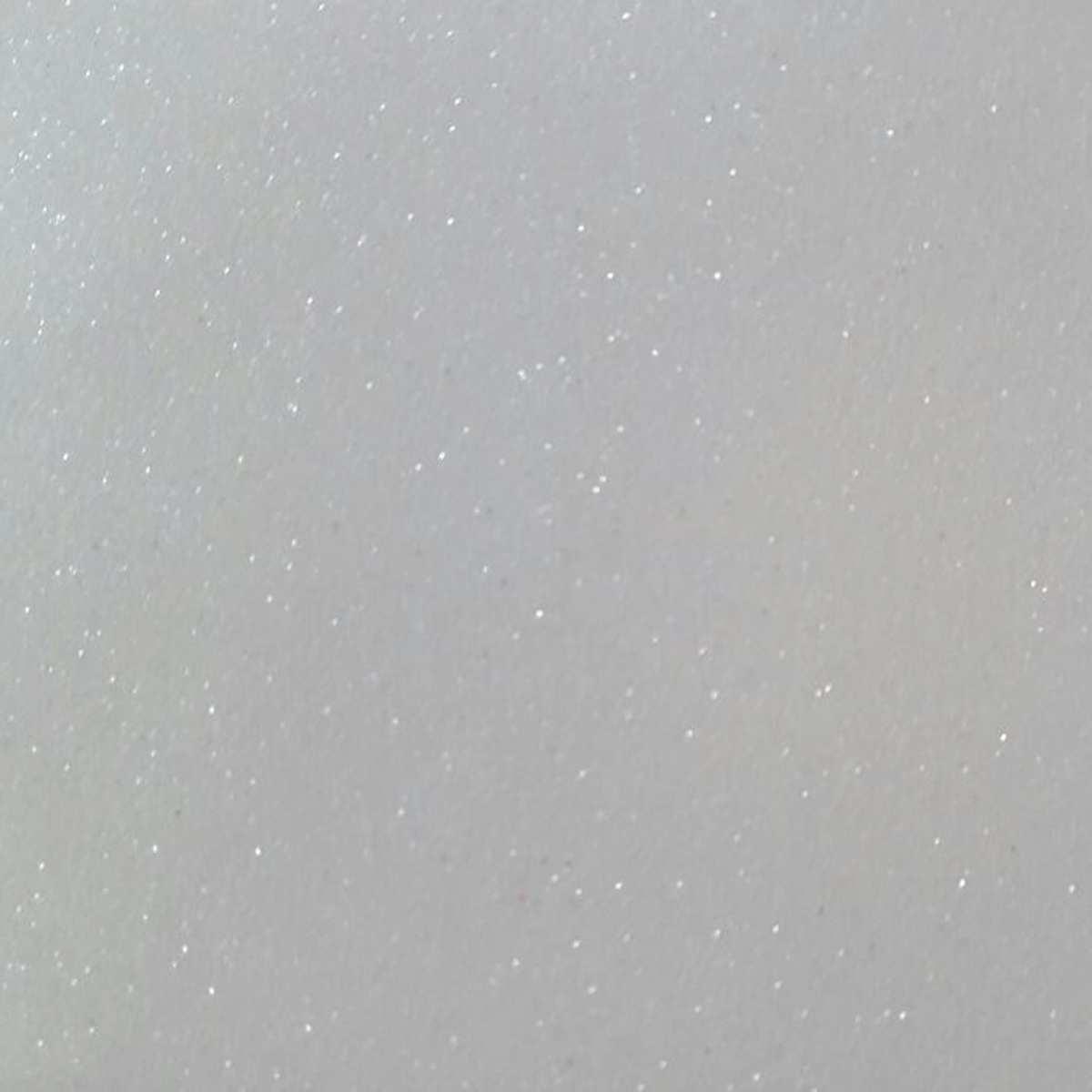 Placa em EVA com Gliter | 60x40cm Branco 2mm Pct.c/05 - Dubflex