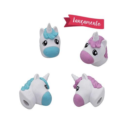 Ponteira Borracha Unicornio Love Heart   Molin