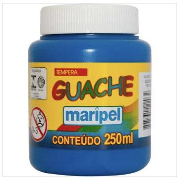 TINTA GUACHE AZUL ESCURO 250ML