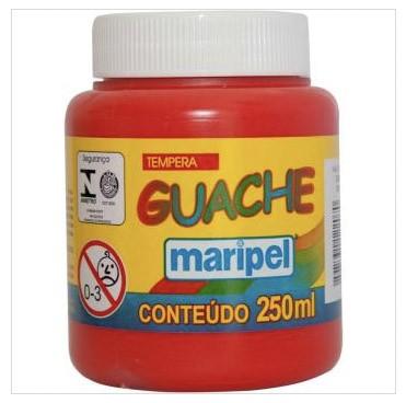 TINTA GUACHE  VERMELHO 250ML