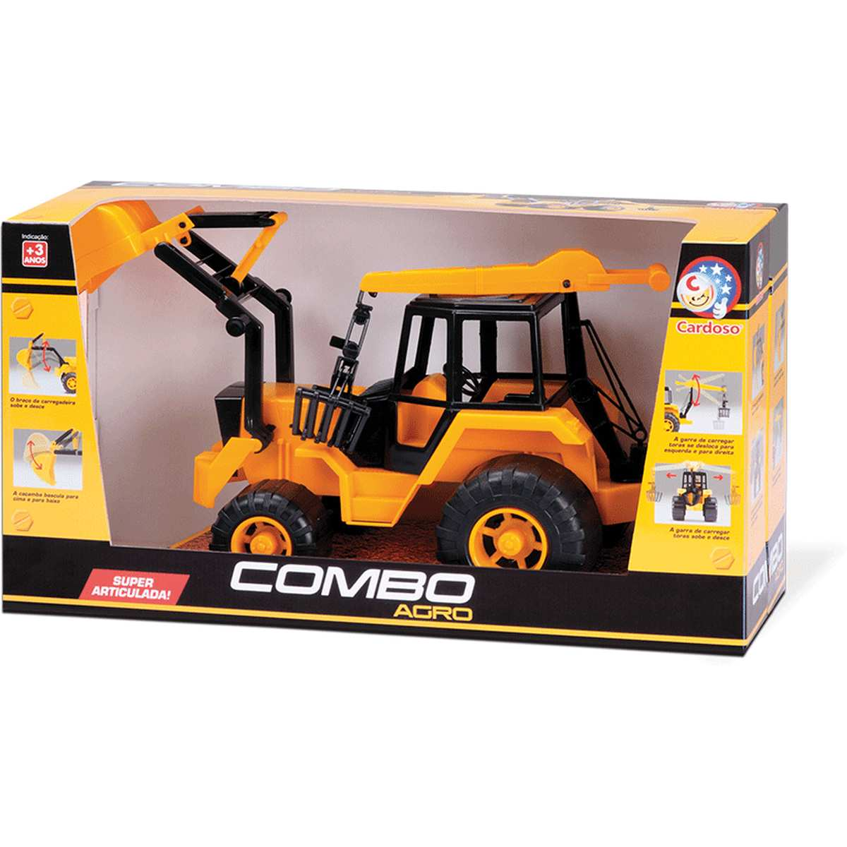 Trator | Combo Agro | Cardoso Toys