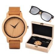 Box de Relógio e Óculos Double Aspilia - Bobo Bird