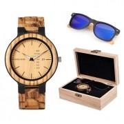 Box de Relógio e Óculos Hura Double - Bobo Bird