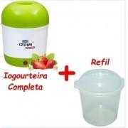 Iogurteira Elétrica Izumi Bivolt 1 Litro + 1 Pote Refil
