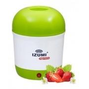 Iogurteira Elétrica Verde Bivolt 1 Litro Modelo Novo Izumi