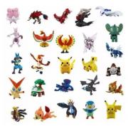 Kit 72 Pokémon Bonecos Miniaturas 2-3cm Não Repetidos