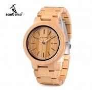 Relógio de Madeira Andasonia - Bobo Bird