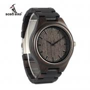 Relógio de Madeira Apuleia - Bobo Bird