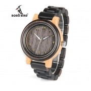 Relógio de Madeira Atronium - Bobo Bird