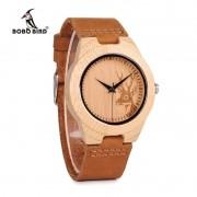 Relógio de Madeira Buttonball - Bobo Bird