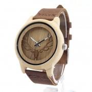Relógio de Madeira Cedars - Bobo Bird