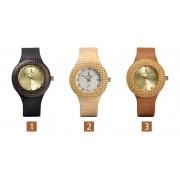Relógio de Madeira Dombeya - Bobo Bird