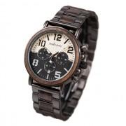 Relógio de Madeira e Aço Inox Artocarpus - Bobo Bird