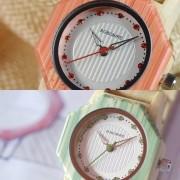 Relógio de Madeira Grevillea  - Bobo Bird