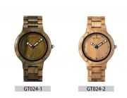 Relógio de Madeira Guatteria - Bobo Bird