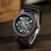 Relógio de Madeira Jagera - Bobo Bird